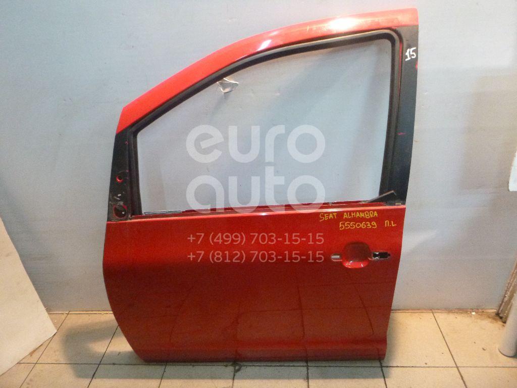 Дверь передняя левая для Seat,VW Alhambra 2001-2010;Sharan 2000-2006;Sharan 2006-2010 - Фото №1