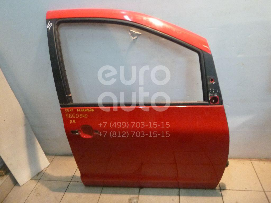 Дверь передняя правая для Seat,VW Alhambra 2000-2010;Sharan 2000-2006;Sharan 2006-2010 - Фото №1