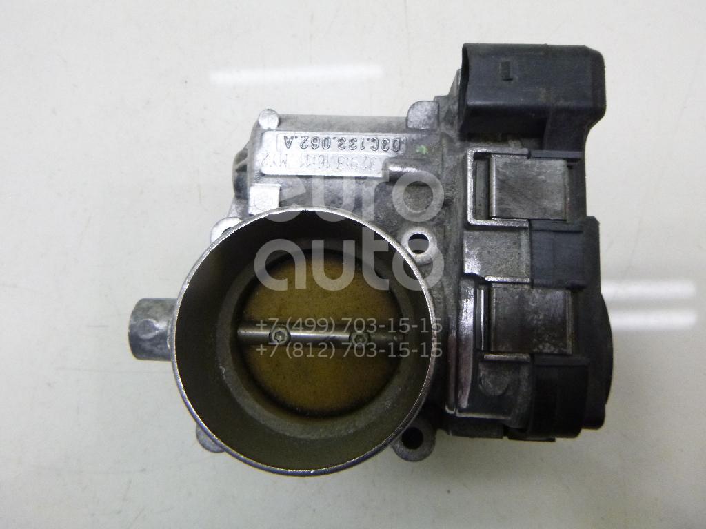 Заслонка дроссельная электрическая для VW Golf V 2003-2009;Passat [B6] 2005-2010;Touran 2003-2010;Jetta 2006-2011 - Фото №1