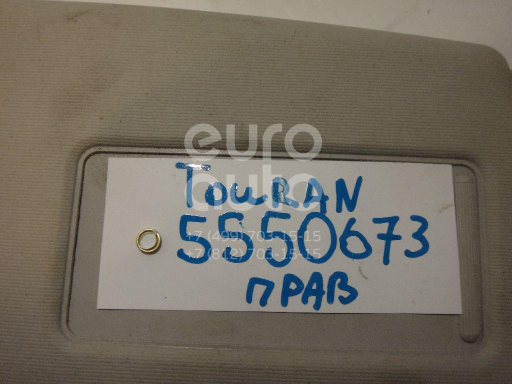 Козырек солнцезащитный (внутри) для VW Touran 2003-2010 - Фото №1