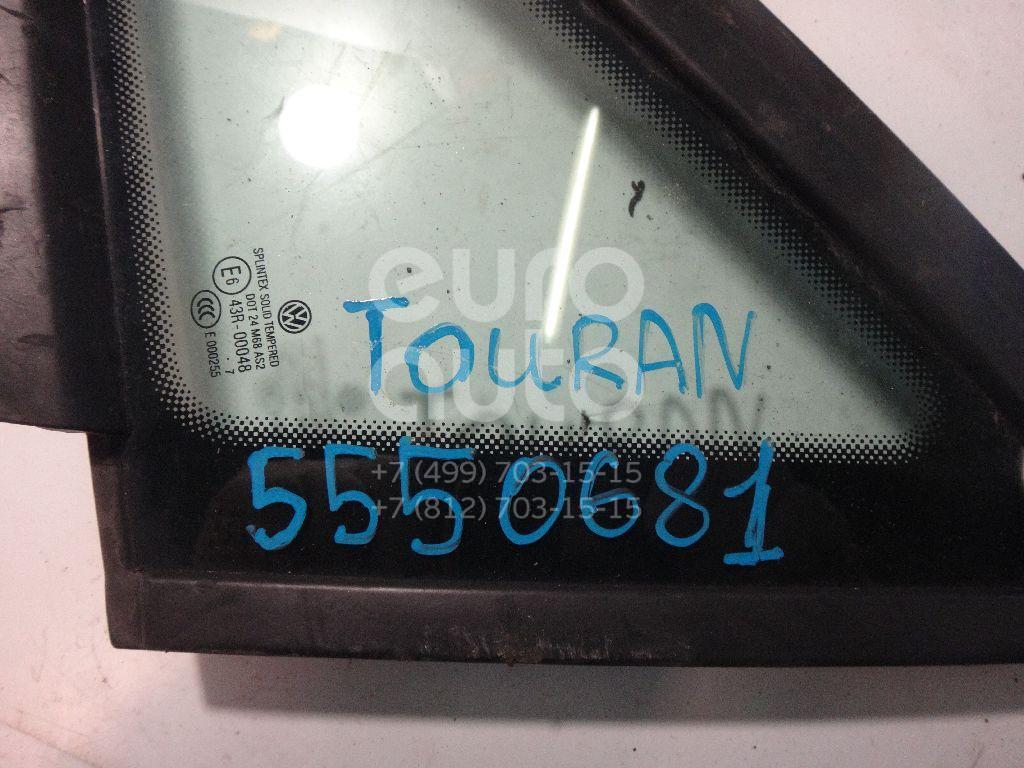 Стекло кузовное глухое левое для VW Touran 2003-2010 - Фото №1