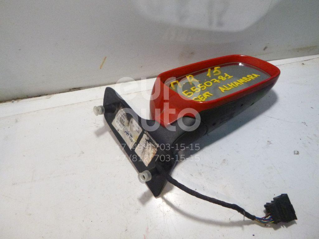 Зеркало правое электрическое для Seat Alhambra 2000-2010 - Фото №1