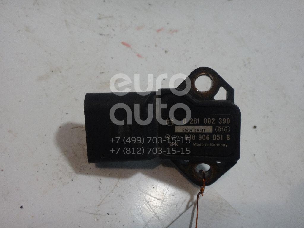Датчик абсолютного давления для VW,Audi,Skoda,Seat Touran 2003-2010;A2 [8Z0] 2000-2005;A3 (8L1) 1996-2003;Octavia (A4 1U-) 2000-2011;Leon (1M1) 1999-2006;A6 [C6,4F] 2004-2011;LT II 1996-2006;Transporter T4 1996-2003;New Beetle 1998-2010 - Фото №1
