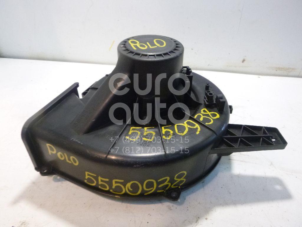 Моторчик отопителя для Skoda Polo 2001-2009;A2 [8Z0] 2000-2005;Fabia 1999-2006;Ibiza V 2008>;Fabia 2007-2015;Roomster 2006>;Cordoba 2003-2008;Ibiza IV 2002-2008;Polo (HB) 2009>;A1 2010>;Polo (Sed RUS) 2011>;Rapid 2013> - Фото №1