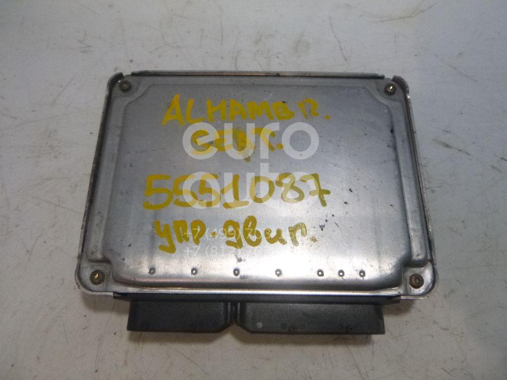 Блок управления двигателем для Seat,VW Alhambra 2001-2010;Sharan 2000-2006;Sharan 2006-2010 - Фото №1