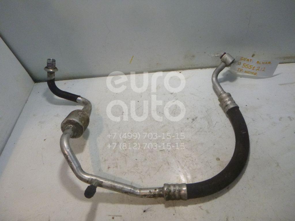 Трубка кондиционера для Seat,VW Alhambra 2001-2010;Alhambra 1996-2001;Sharan 2000-2006 - Фото №1
