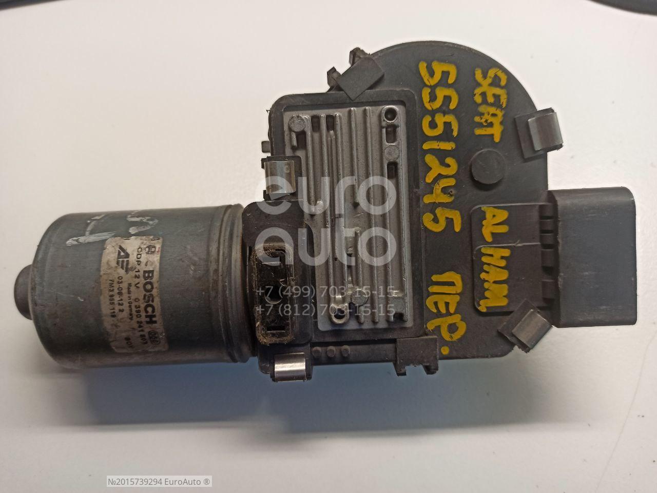 Моторчик стеклоочистителя передний для Seat,VW Alhambra 2001-2010;Sharan 2000-2006 - Фото №1