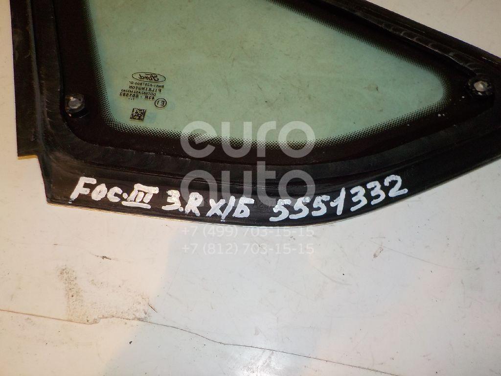 Стекло кузовное глухое правое для Ford Focus III 2011> - Фото №1