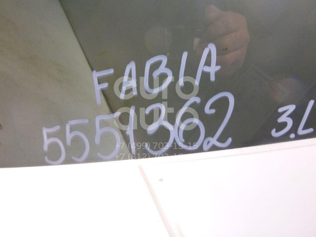 Стекло двери задней левой для Skoda Fabia 2007-2015 - Фото №1