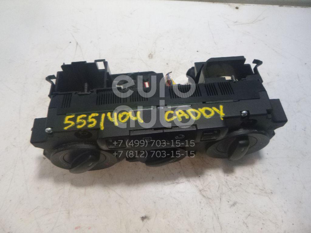 Блок управления отопителем для VW Caddy III 2004>;Golf V Plus 2005-2014;Passat [B6] 2005-2010;Golf V 2003-2009;Touran 2003-2010;Tiguan 2007-2011 - Фото №1