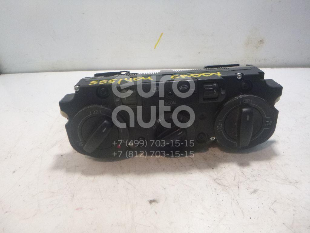 Блок управления отопителем для VW Caddy III 2004-2015;Golf Plus 2005-2014;Passat [B6] 2005-2010;Golf V 2003-2009;Touran 2003-2010;Tiguan 2007-2011 - Фото №1