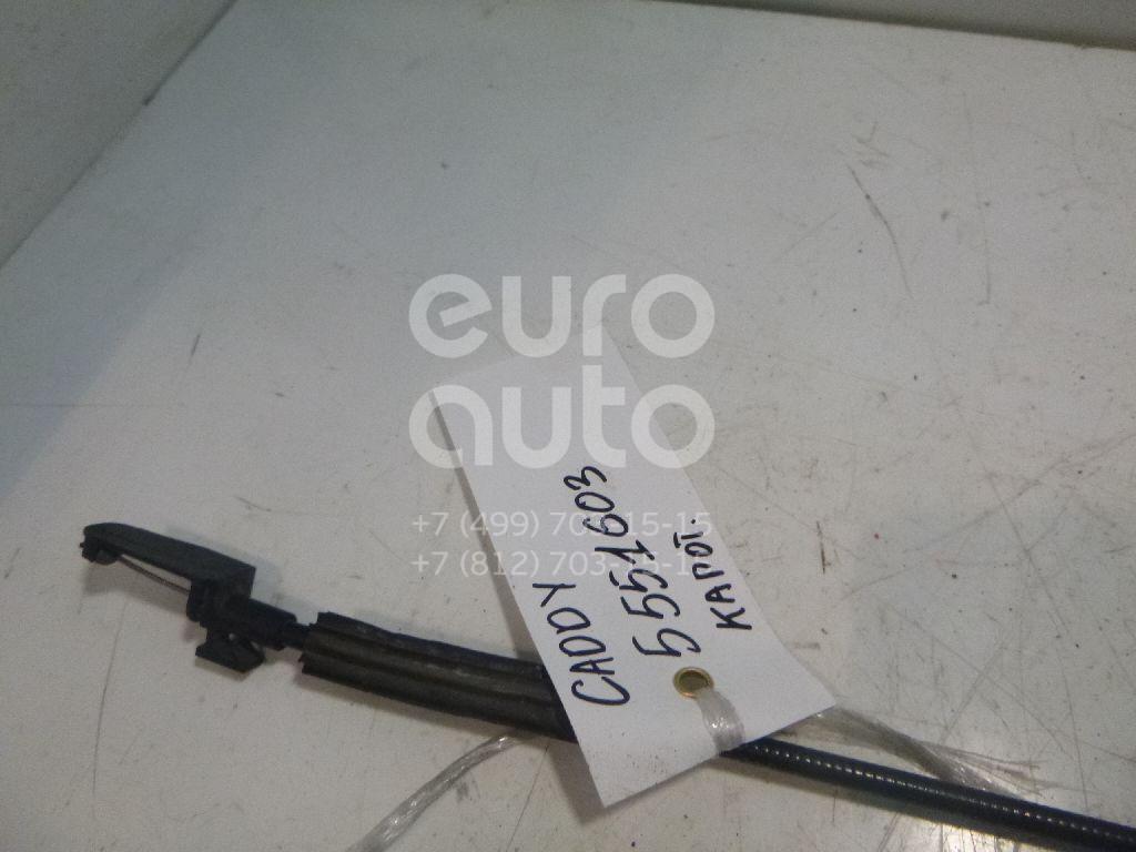 Трос открывания капота для VW Caddy III 2004>;Touran 2003-2010 - Фото №1