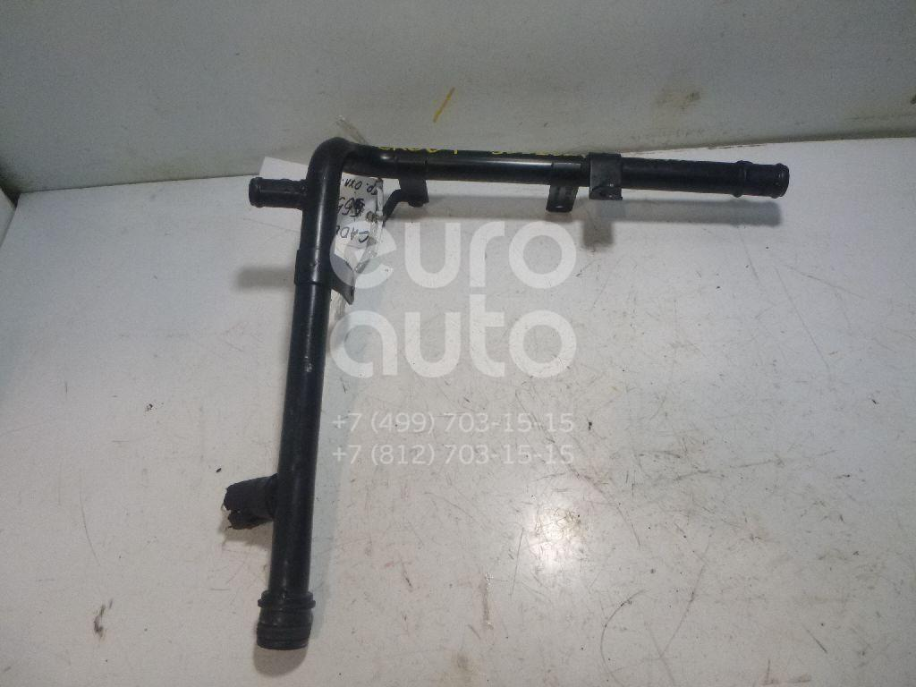 Трубка охлажд. жидкости металлическая для VW,Audi,Seat Caddy III 2004-2015;A3 [8PA] Sportback 2004-2013;Jetta 2006-2011;Leon (1P1) 2005-2013 - Фото №1