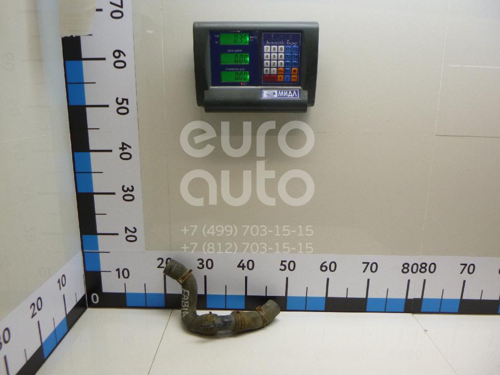 Патрубок радиатора для Skoda,VW Fabia 2007-2015;Polo 2001-2009;Fox 2005-2011 - Фото №1