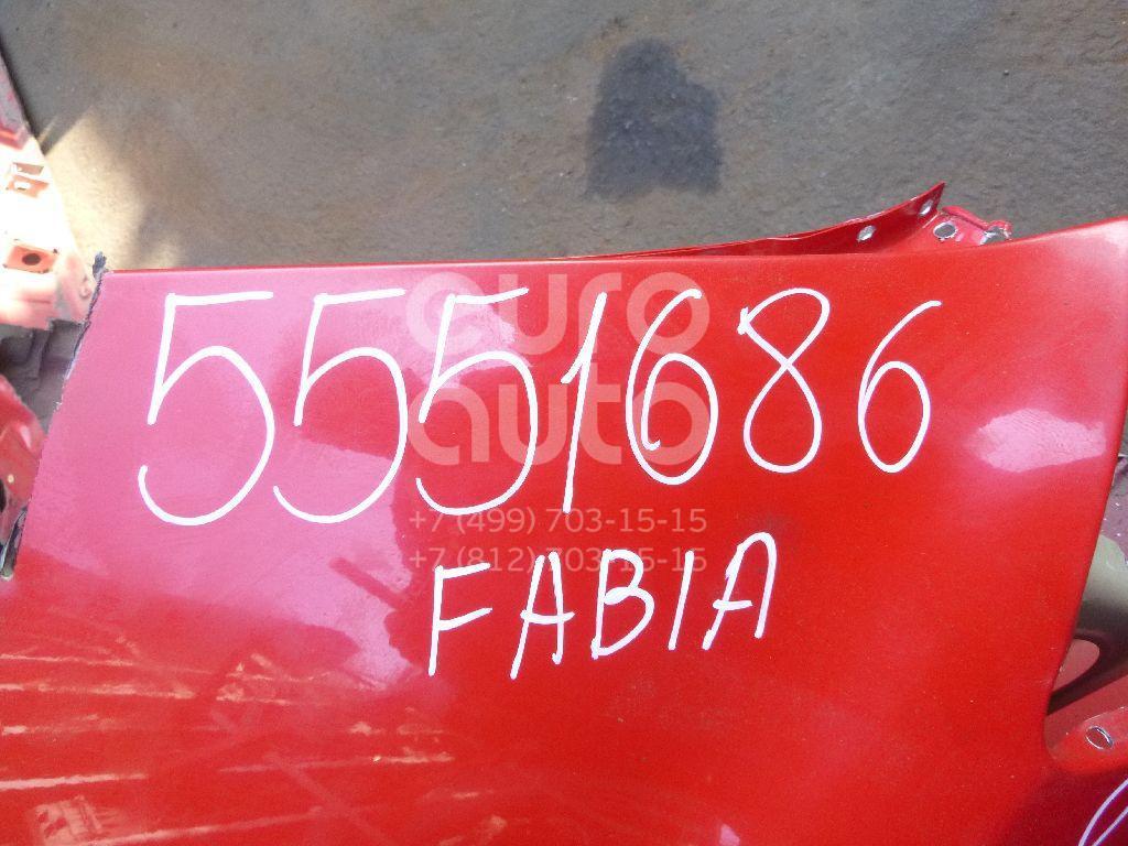 Крыло заднее левое для Skoda Fabia 2007-2015 - Фото №1
