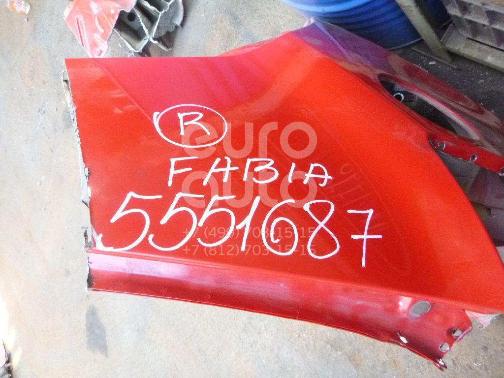 Крыло заднее правое для Skoda Fabia 2007-2015 - Фото №1