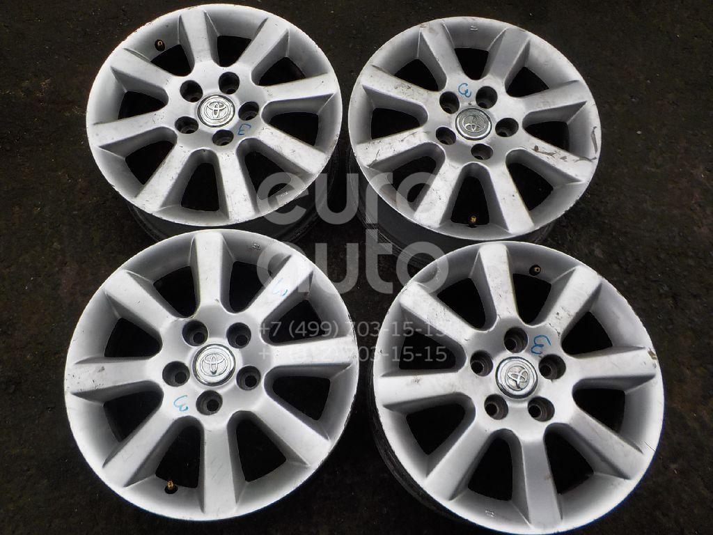 Диски колесные легкосплавные (к-кт) для Toyota CorollaVerso 2004-2009 - Фото №1
