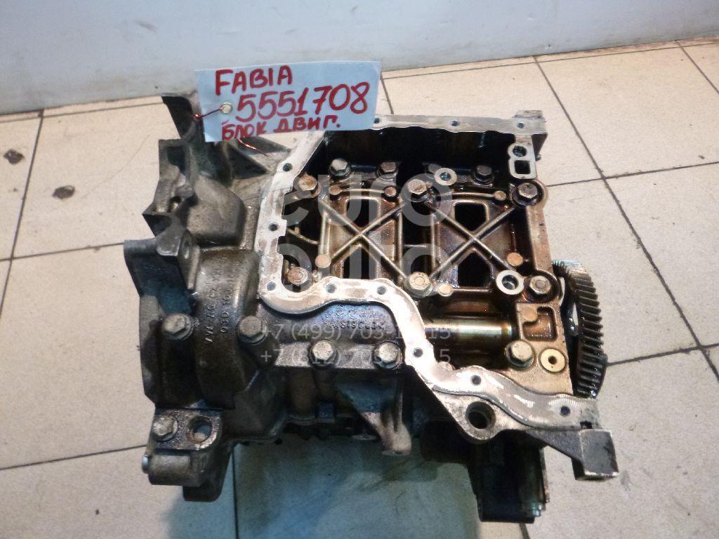 Блок двигателя для Skoda Fabia 2007-2015 - Фото №1