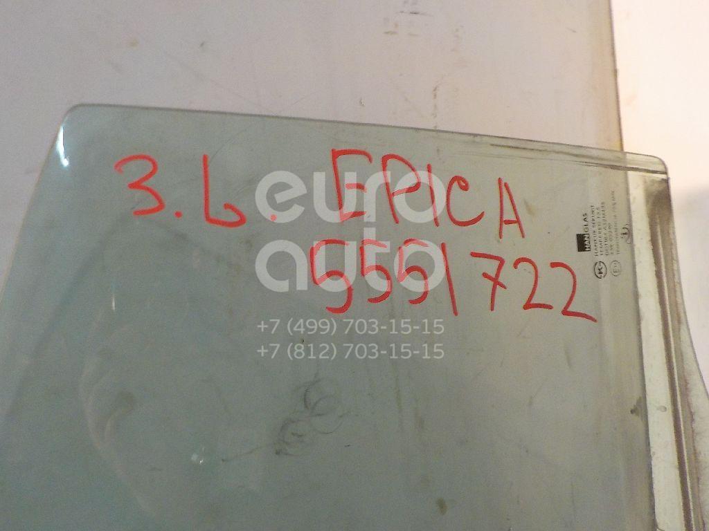 Стекло двери задней левой для Chevrolet Epica 2006-2012 - Фото №1