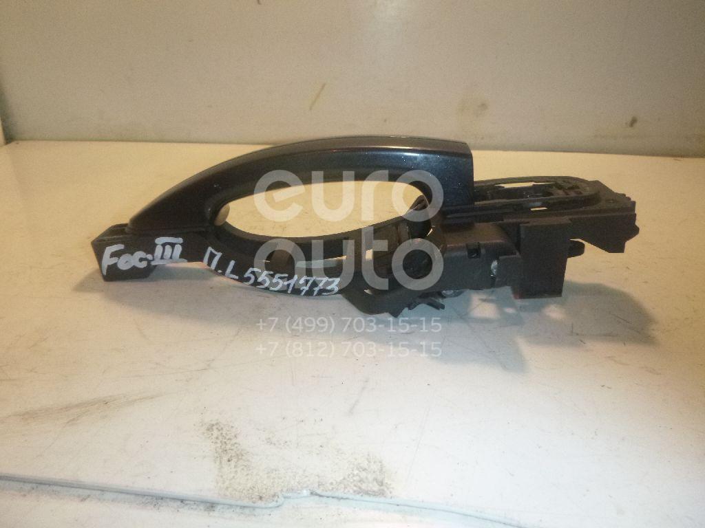 Ручка двери передней наружная левая для Ford Focus III 2011> - Фото №1