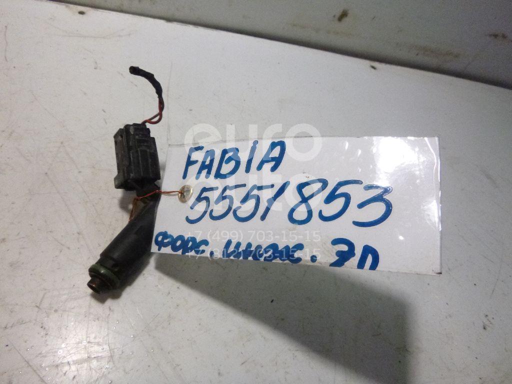 Форсунка инжекторная электрическая для Skoda,VW Fabia 2007-2015;Fabia 1999-2007;Polo 2001-2009 - Фото №1