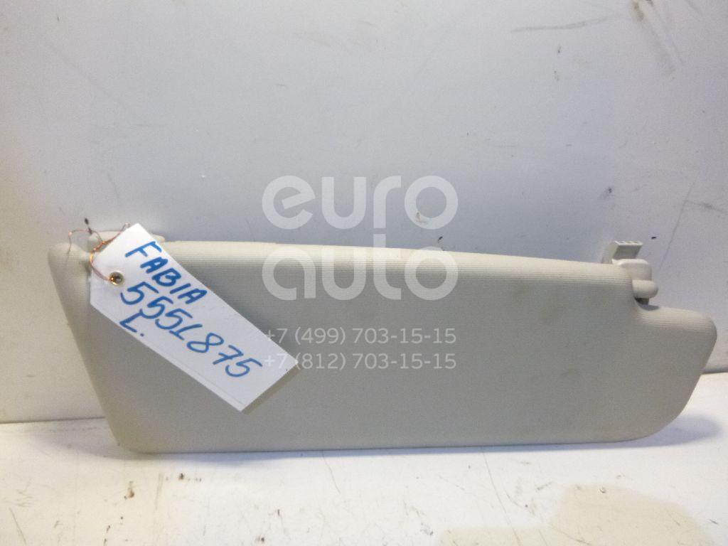 Козырек солнцезащитный (внутри) для Skoda Fabia 2007-2015;Roomster 2006> - Фото №1