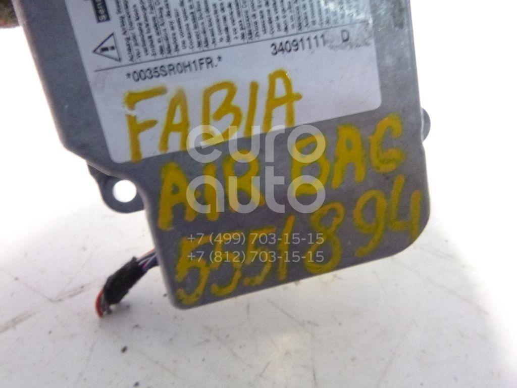 Блок управления AIR BAG для Skoda Fabia 2007-2015;Polo Classic 1995-2002;Superb 2002-2008;Fabia 1999-2006;Polo 2001-2009;Roomster 2006> - Фото №1