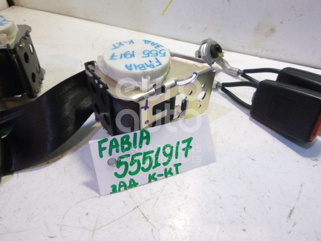 Ремень безопасности для Skoda Fabia 2007-2015 - Фото №1