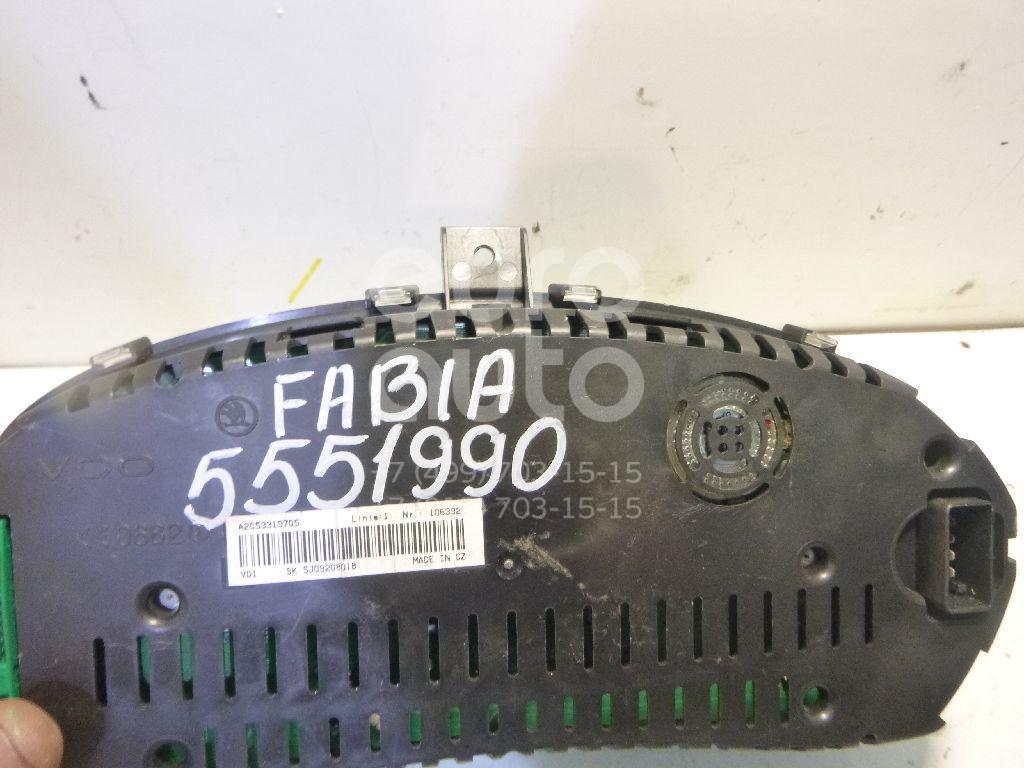 Панель приборов для Skoda Fabia 2007-2015 - Фото №1