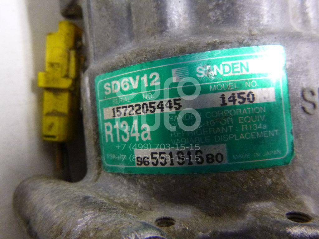 Компрессор системы кондиционирования для Citroen,Peugeot C3 2002-2009;C2 2003-2008;1007 2005-2009;Nemo 2008> - Фото №1