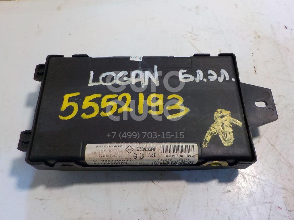 Блок электронный для Renault Logan 2005-2014 - Фото №1