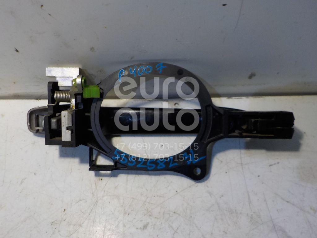 Ручка двери задней наружная левая для Peugeot 4007 2008-2013 - Фото №1