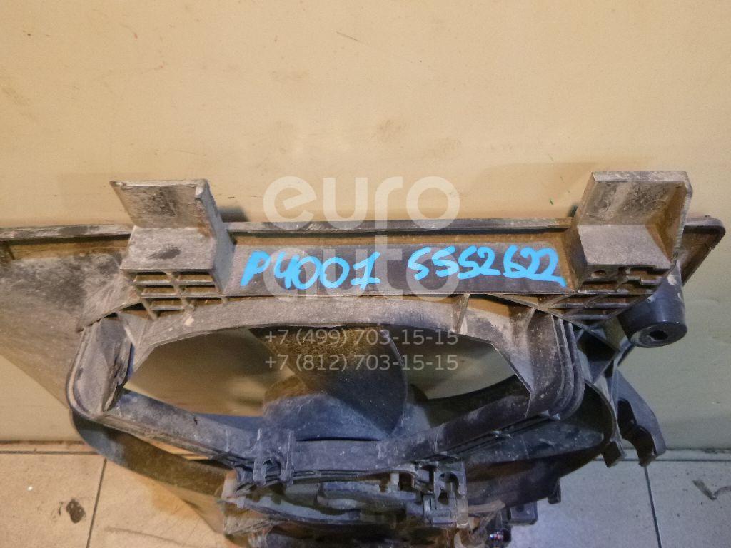 Вентилятор радиатора для Peugeot 4007 2008-2013 - Фото №1