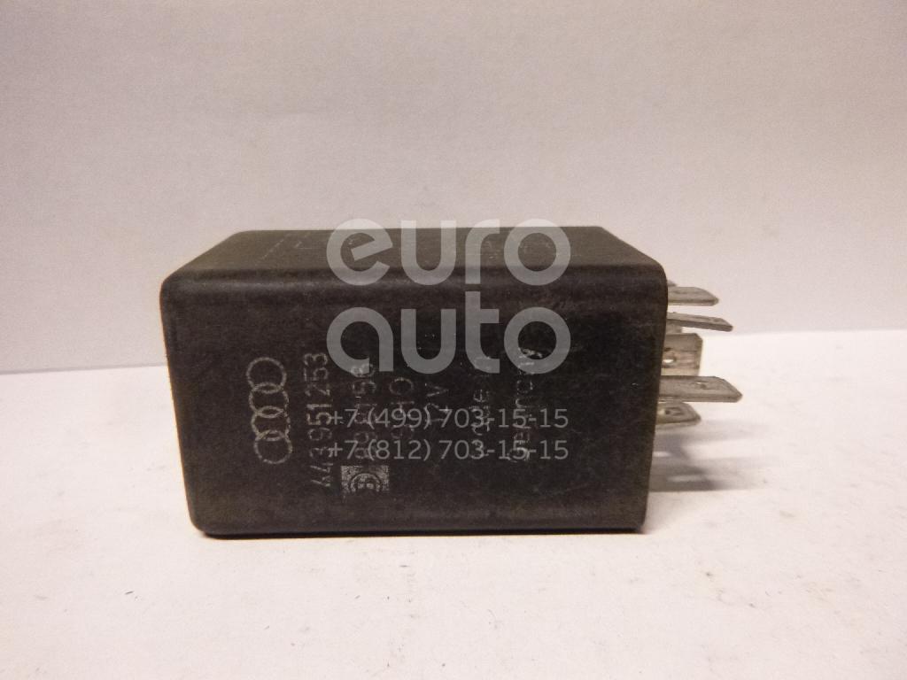 Реле для Audi 80/90 [B4] 1991-1994;100/200 [44] 1983-1991;A4 [B5] 1994-2001;A6 [C4] 1994-1997 - Фото №1