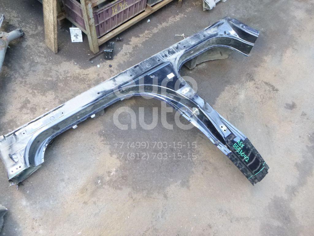 Порог со стойкой правый для Mitsubishi ASX 2010> - Фото №1