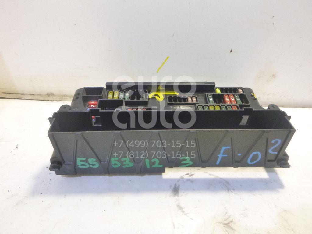 Блок предохранителей для BMW 7-серия F01/F02 2008-2015;5-серия F10/F11 2009>;GT F07 2008>;6-серия F12/F13 2009> - Фото №1