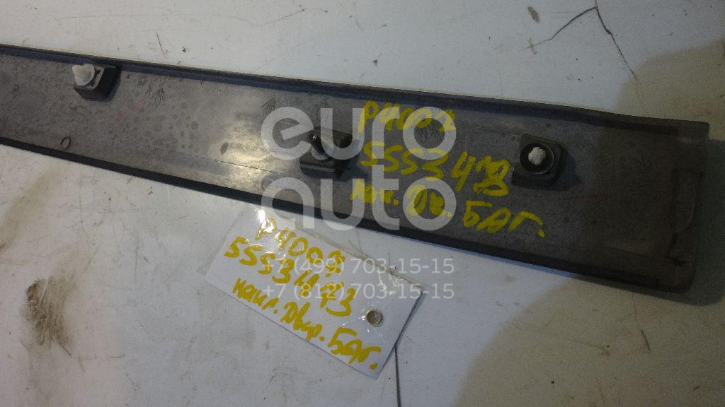 Накладка двери багажника для Peugeot,Citroen 4007 2008-2013;C-Crosser 2008-2013 - Фото №1