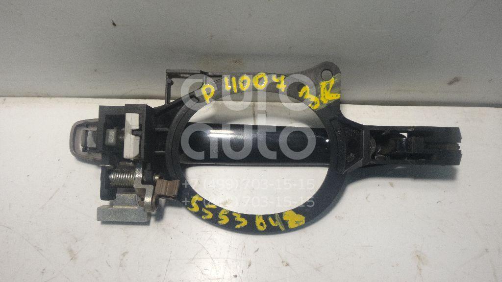 Ручка двери задней наружная правая для Peugeot 4007 2008-2013 - Фото №1