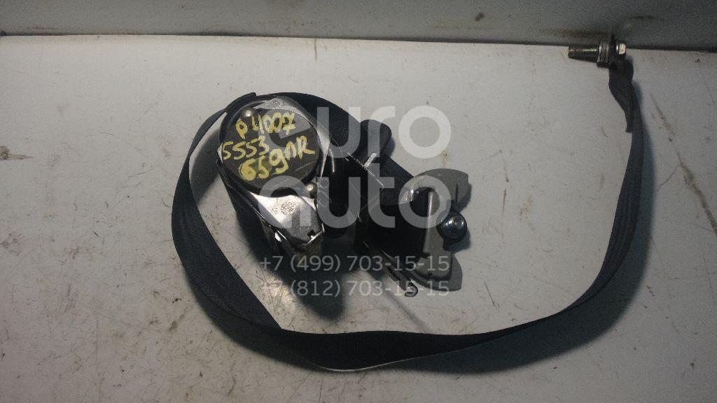 Ремень безопасности с пиропатроном для Peugeot,Citroen 4007 2008-2013;C-Crosser 2008-2013 - Фото №1