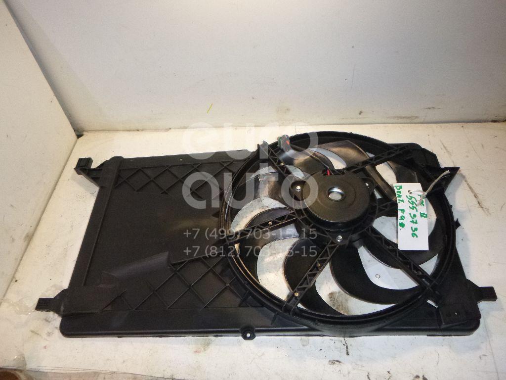 Вентилятор радиатора для Ford Focus II 2008-2011 - Фото №1