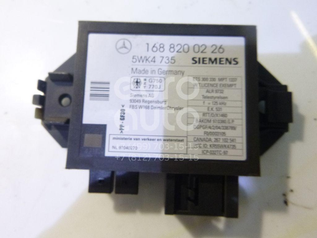 Блок электронный для Mercedes Benz A140/160 W168 1997-2004;VANEO W414 2001-2006 - Фото №1