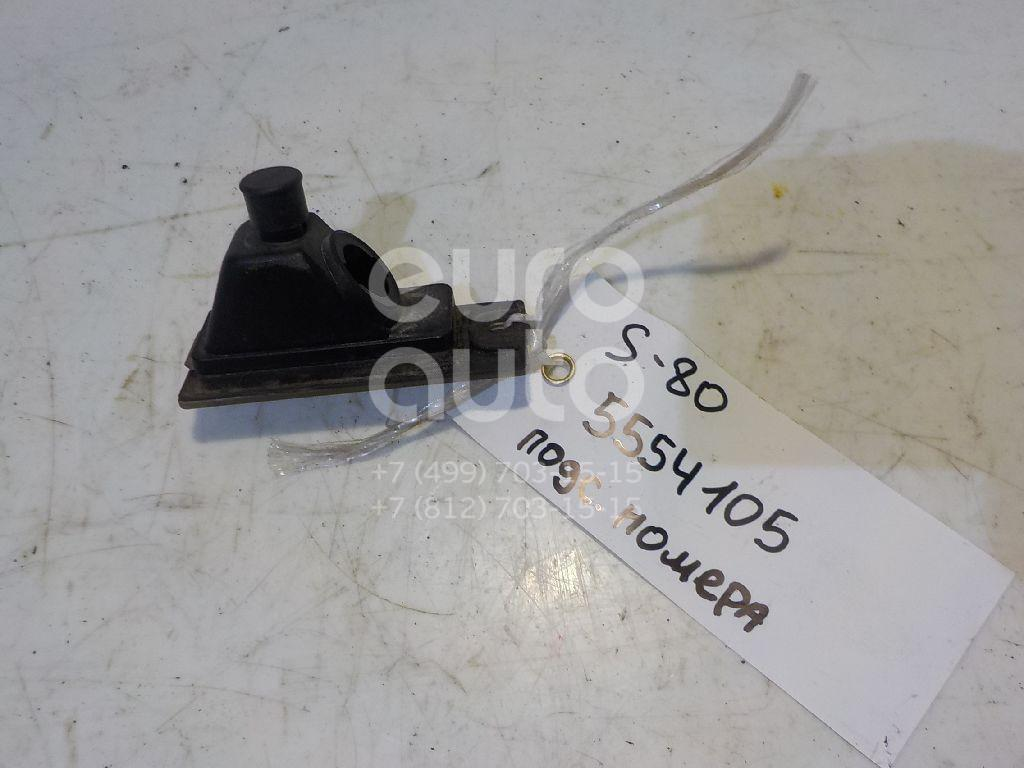 Фонарь подсветки номера для Volvo S80 1998-2006;XC90 2002-2015;V70 2001-2006;XC70 Cross Country 2000-2006;S60 2000-2009 - Фото №1