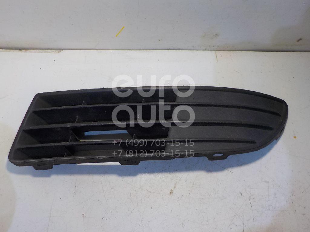 Решетка в бампер левая для VW Polo 2001-2009 - Фото №1