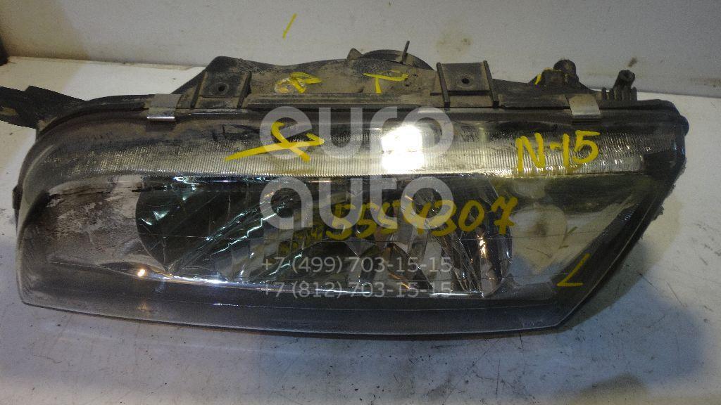 Фара левая для Nissan Almera N15 1995-2000 - Фото №1