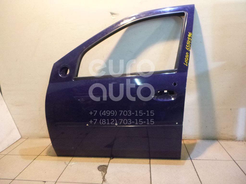 Дверь передняя левая для Renault Logan 2005-2014 - Фото №1