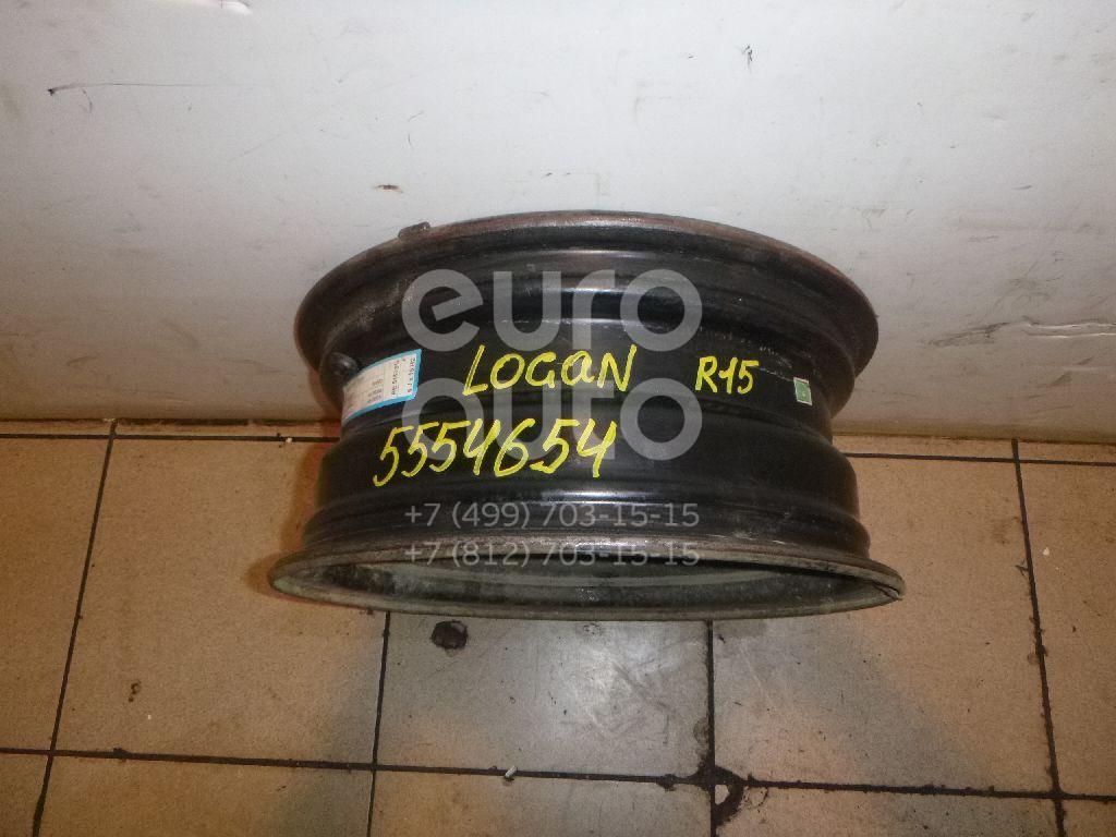 Диск колесный железо для VAZ Logan 2005-2014;Sandero 2009-2014;Lada Largus 2011> - Фото №1