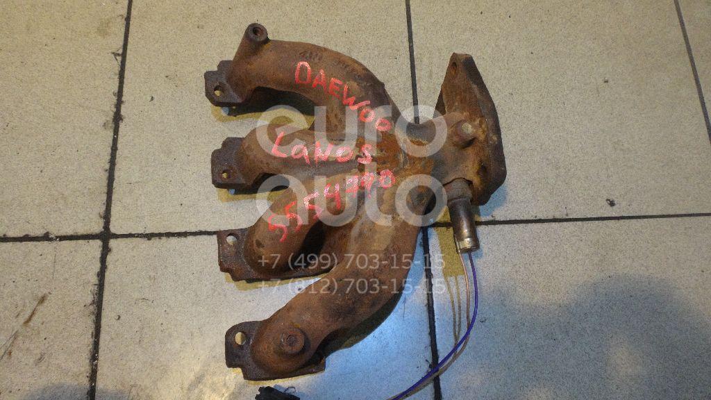 Коллектор выпускной для Daewoo,Chevrolet Lanos 1997-2009;Nexia 1995-2016;Aveo (T200) 2003-2008;Lanos 2004>;Aveo (T250) 2005-2011 - Фото №1