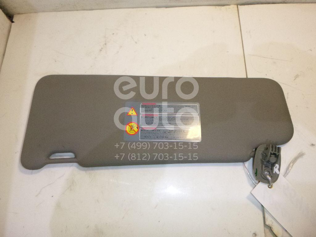 Козырек солнцезащитный (внутри) для Renault Logan 2005-2014 - Фото №1