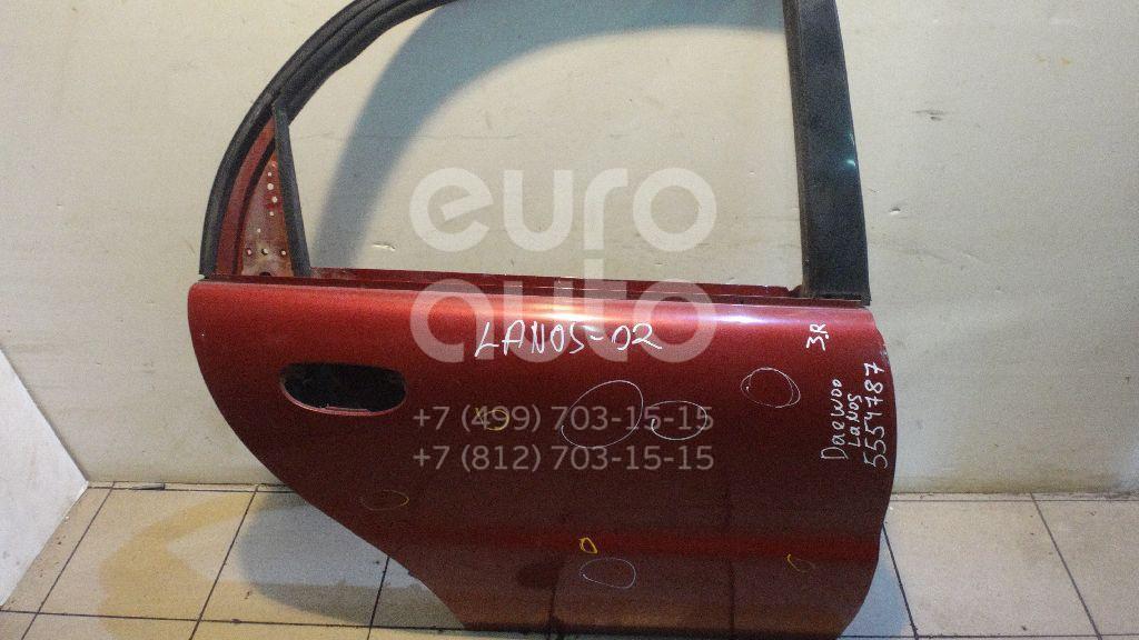 Дверь задняя правая для Chevrolet Lanos 1997>;Lanos 2004> - Фото №1