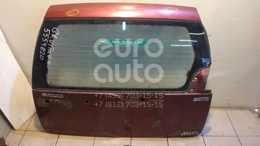 Дверь багажника со стеклом для Suzuki Grand Vitara 1998-2005 - Фото №1
